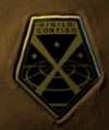 XCOM badge used ingame on the soldiers armor - I can't get a better pic than this one