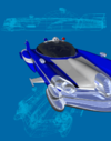 Police Hovercar UFOPedia picture