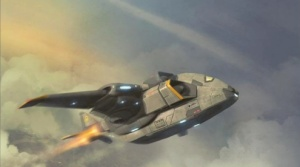 Skyranger Troop Transporter concept art