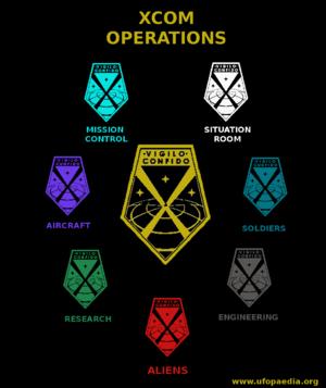 Xcom Badge XCOM (EU2012) - UFOpae...
